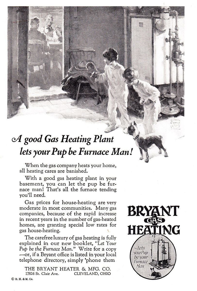 Pin By J E Hart On Vintage Ads Heating And Cooling Gas Heating