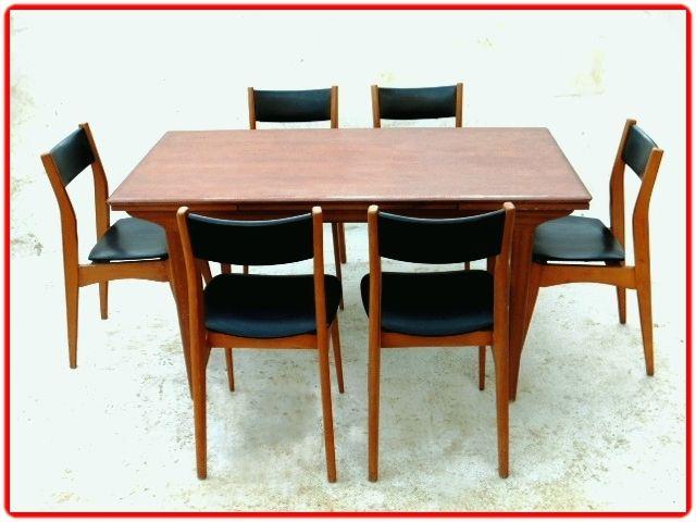 salle manger vintage scandinave annees 1960 vendu. Black Bedroom Furniture Sets. Home Design Ideas