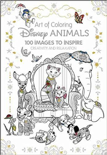 Amazonsmile art of coloring disney animals 100 images to inspire creativity and relaxation