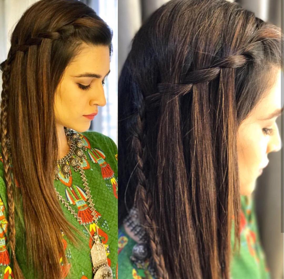 Top Kriti Sanon Hairstyles You Need To Follow In 2020 Hair Styles Front Hair Styles Open Hairstyles