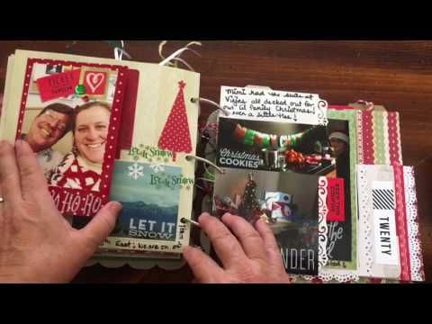 (251) My December Daily - Christmas in July - Days 16-20 2014   dearjuliejulie - YouTube