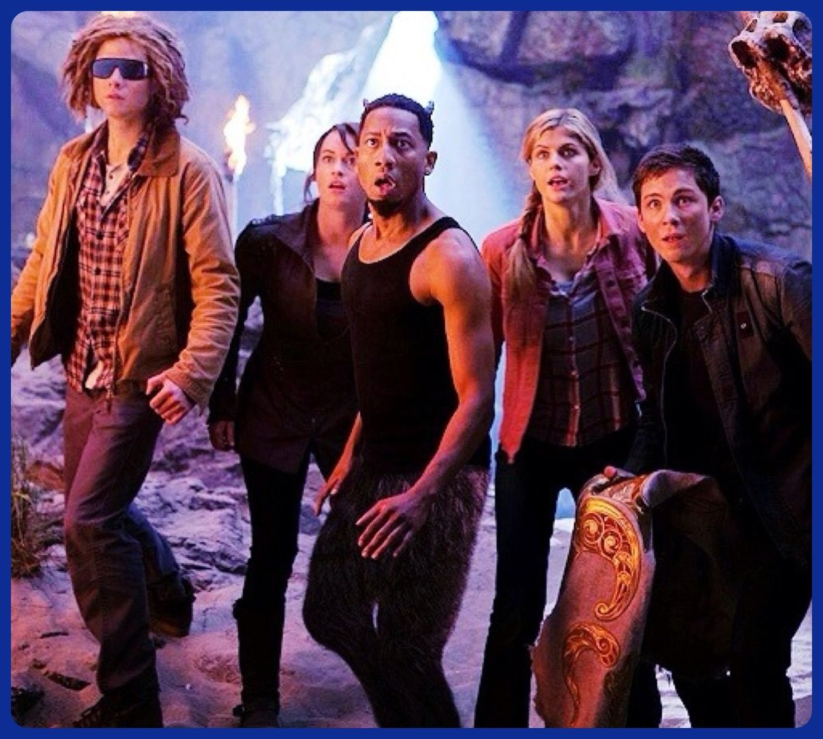 Tyson Clarisse Grover Annabeth And Percy Love Them Percy Jackson Funny Percy Jackson Percy Jackson And The Olympians