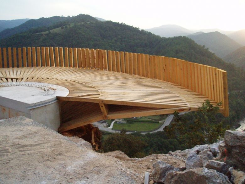 Anglade structures bois belv d re sur l 39 eyrieux tree house pinteres - Anglade structure bois ...