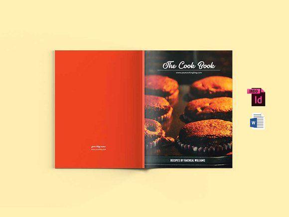 Mini Cookbook Template Ms Word Creativework  Templates