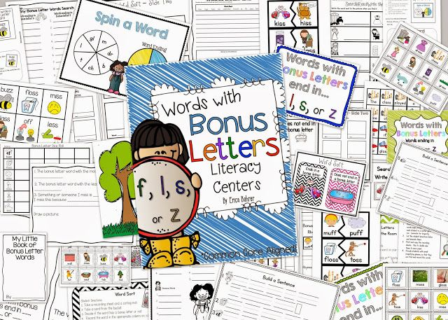 Erica's Ed-Ventures: Phonics Themed Centers & Thanksgiving Updates