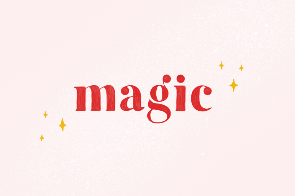 Magic Colour SVG Font in 2020 Magic font, Lettering