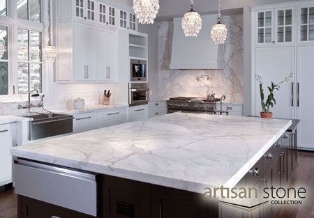Counter And Handles Contemporary Kitchen Kitchen Marble