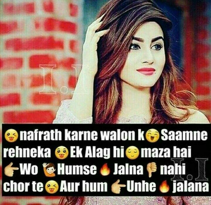 Pin By Shaik On Girls Aur Unki Baate Attitude Quotes Attitude