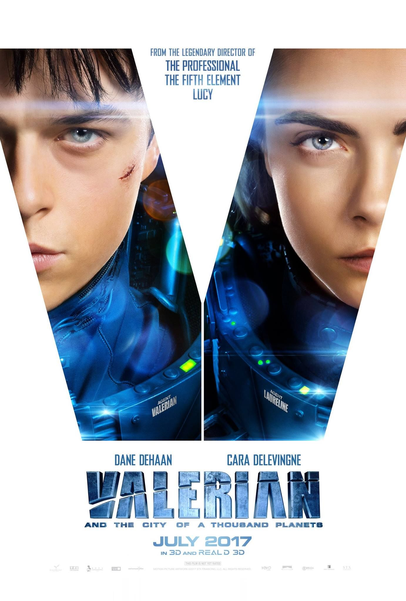 Valerian And The City Of A Thousand Planets Starring Dane Dehaan Cara Delevingne In Theaters July 21 2017 Planet Movie Free Movies Online Valerian