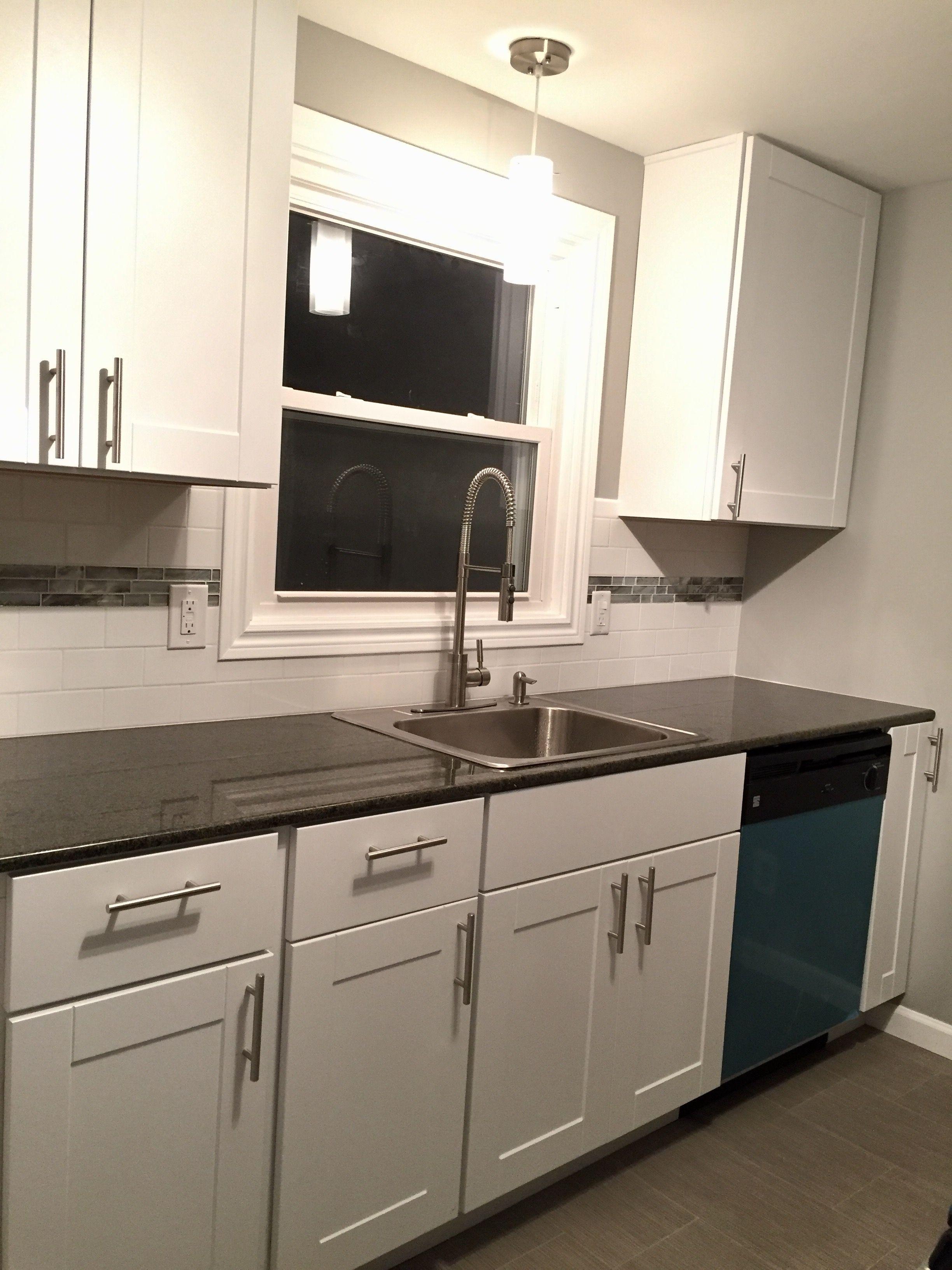 Download Wallpaper Home Depot White Upper Kitchen Cabinets