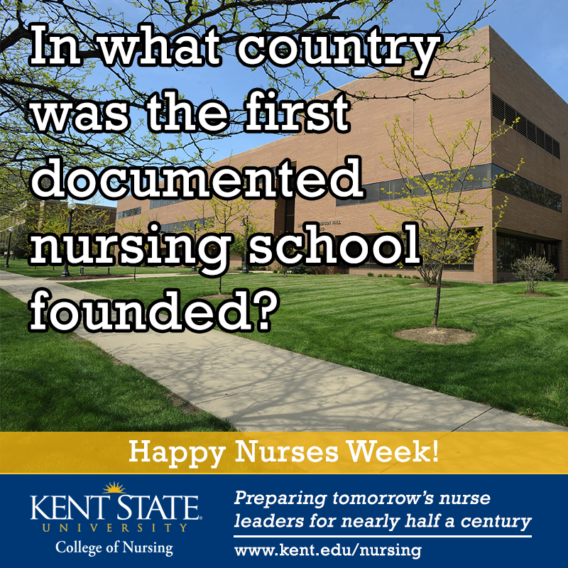 In honor of National Student Nurses Day, today's trivia question is related to nursing education! #NursesWeek