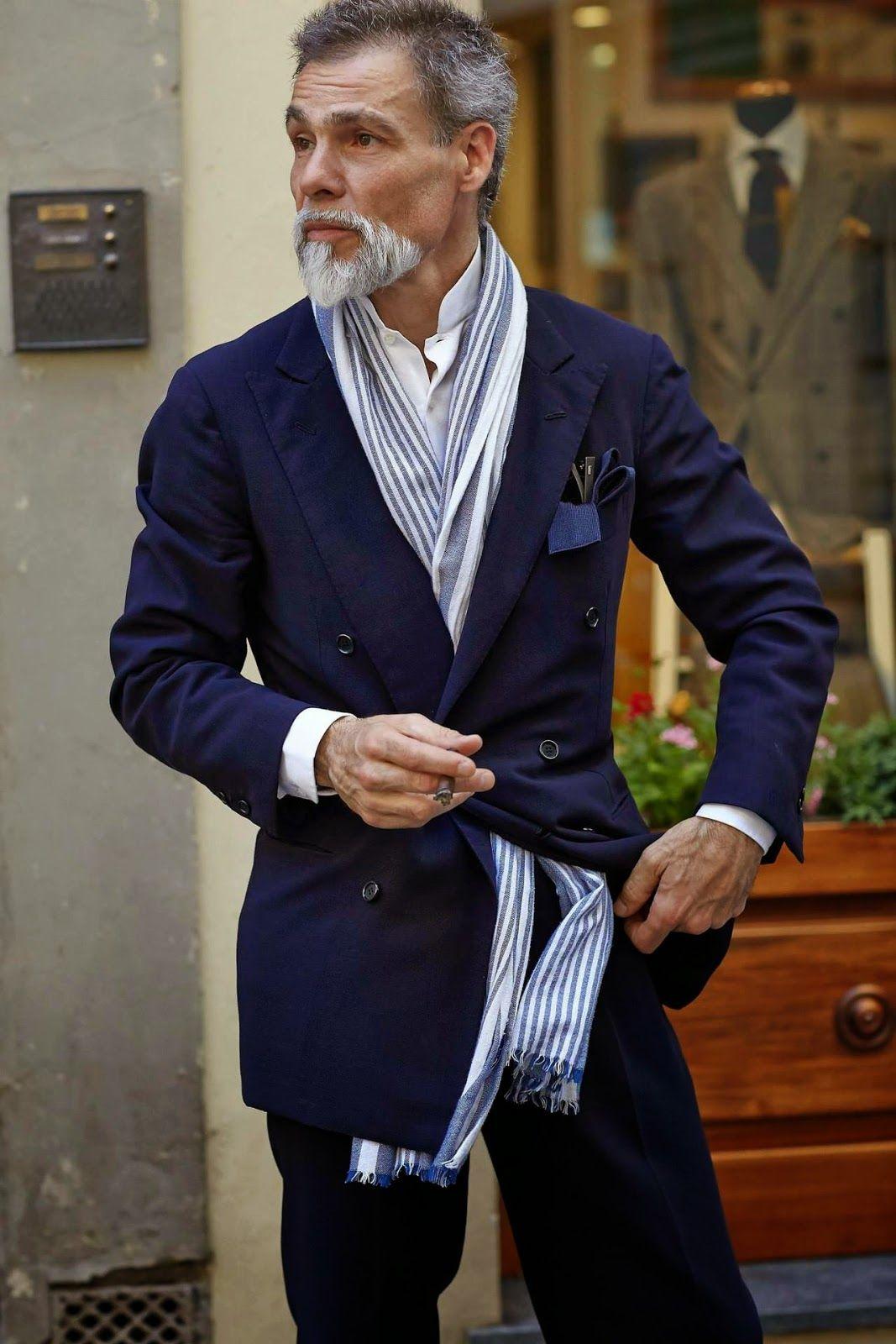 Menswear staple - The scarf