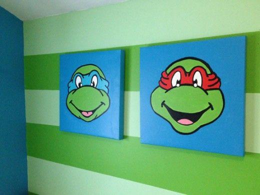 Teenage Mutant Ninja Turtles Bedroom Ideas | Ninja turtle bedroom ...