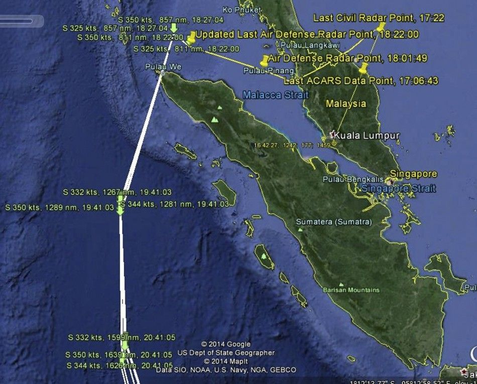 ER31 : @MH370: Wreckage Found in Bay of Bengal Remained Unexplored
