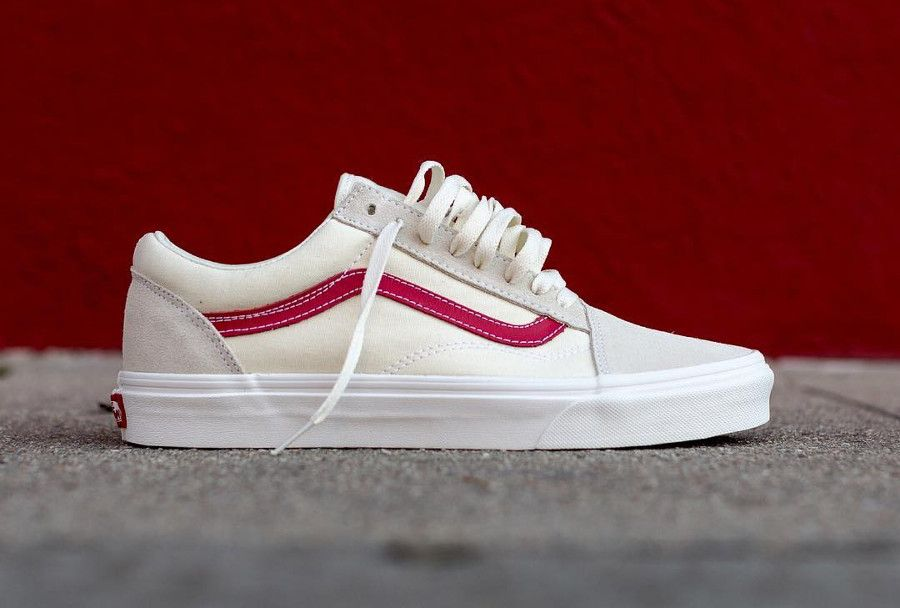 d9e319bfb6a74b Vans Old Skool  Rococco Red