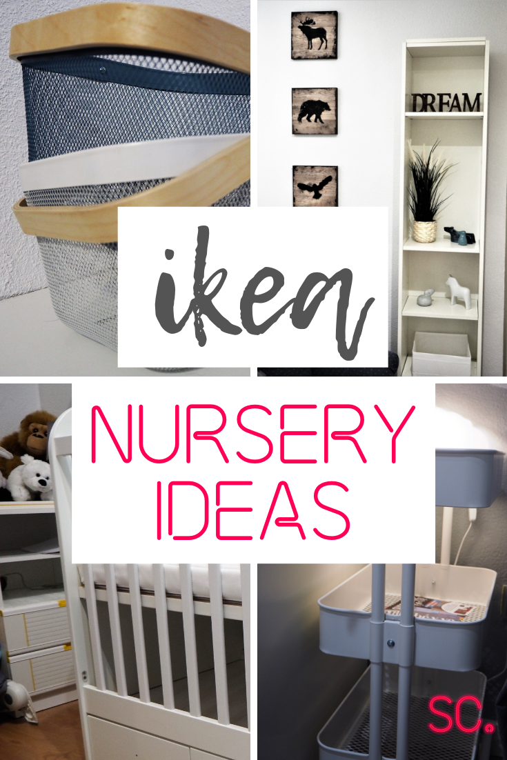 IKEA Nursery Decoration: How To Decorate Your Nursery On A Budget — Simone Clement | Ikea Nursery, Cheap Nursery Ideas, Ikea Baby Nursery