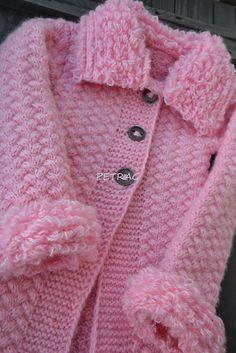 Pletený kabátik / D.O.M.A - SAShE.sk - Handmade Detské oblečenie