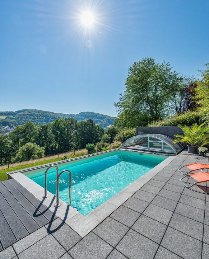 pool in kleinem garten | pool | pinterest | haus, pools and garten, Garten Ideen