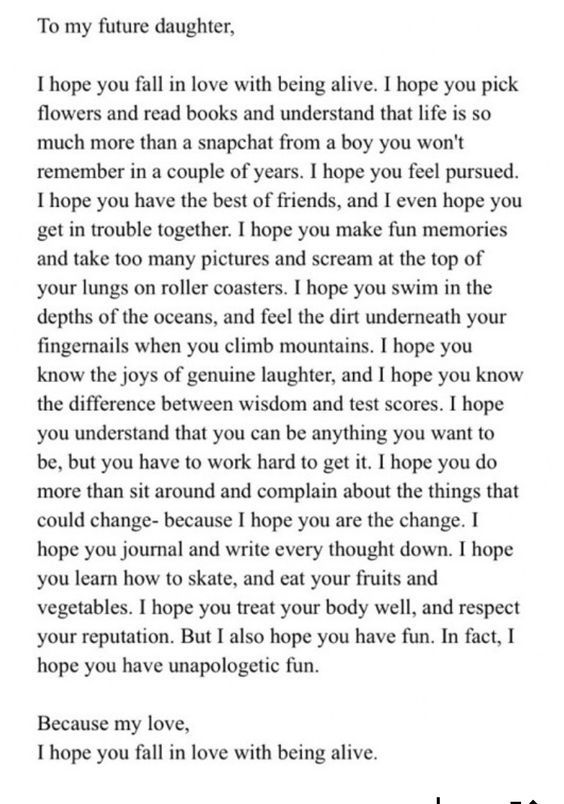 Fantastic letter to any child, or anyone! Good things to help set - breakup letters