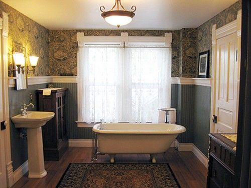 Victorian Lighting Bathroom With Theme