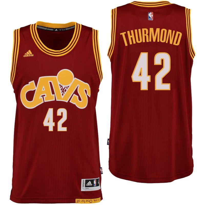 3c1433870d7 Men s Cleveland Cavaliers  12 Jordan McRae New Swingman Road Wine Jersey