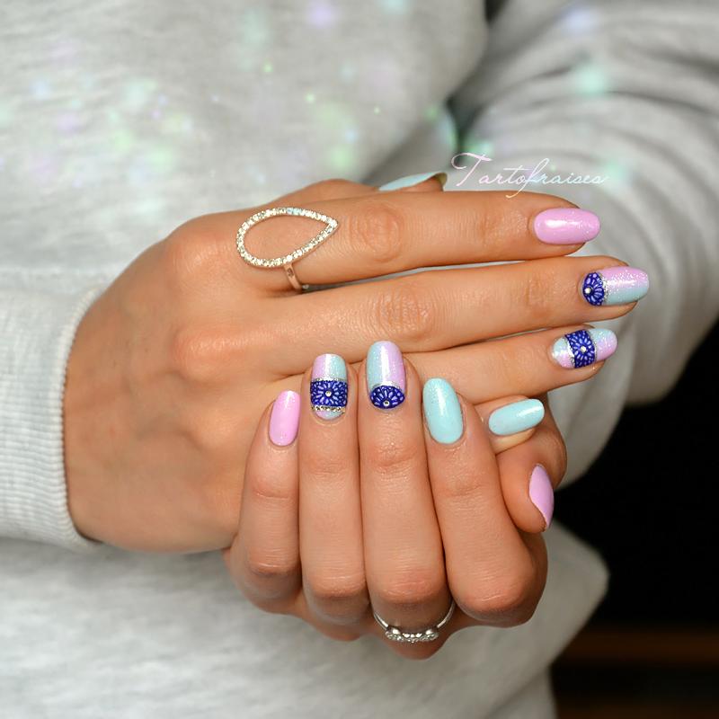 nail art dentelle 3d gel plasti | Happy Hands | Pinterest