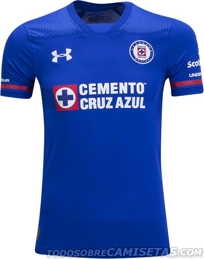 8fea65ba74d08 Camisetas Under Armour de Cruz Azul 2017-18. Camisetas Under Armour de Cruz  Azul 2017-18 Uniformes De Futbol ...