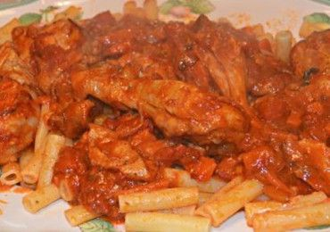Chicken-Cacciatore-Pasta