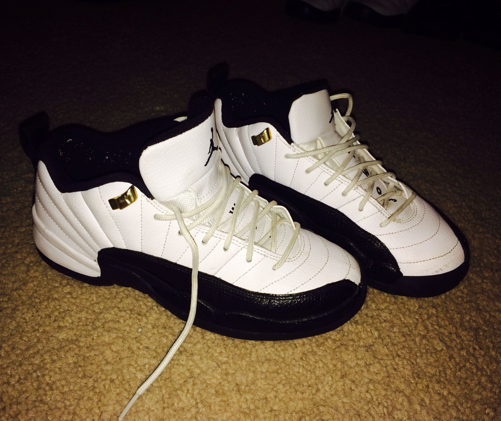 premium selection 4a154 5e85e ... czech air jordan 12 xii retro low taxi white black taxi were released  on may 22