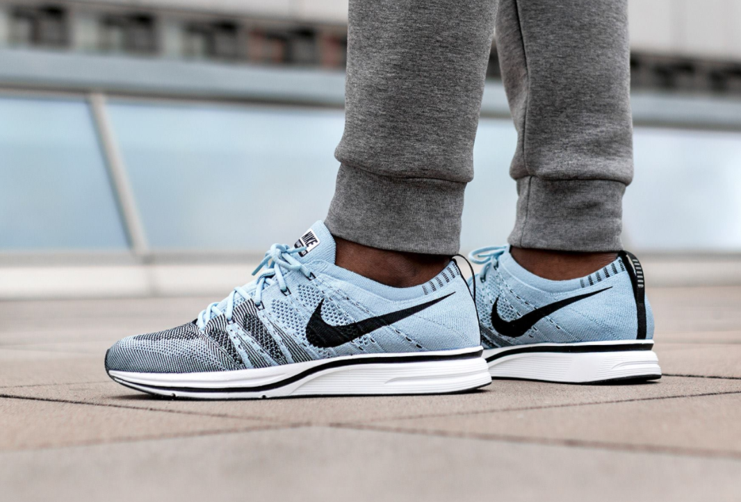 a139a86a7b2c Release Reminder  Nike Flyknit Trainer Cirrus Blue