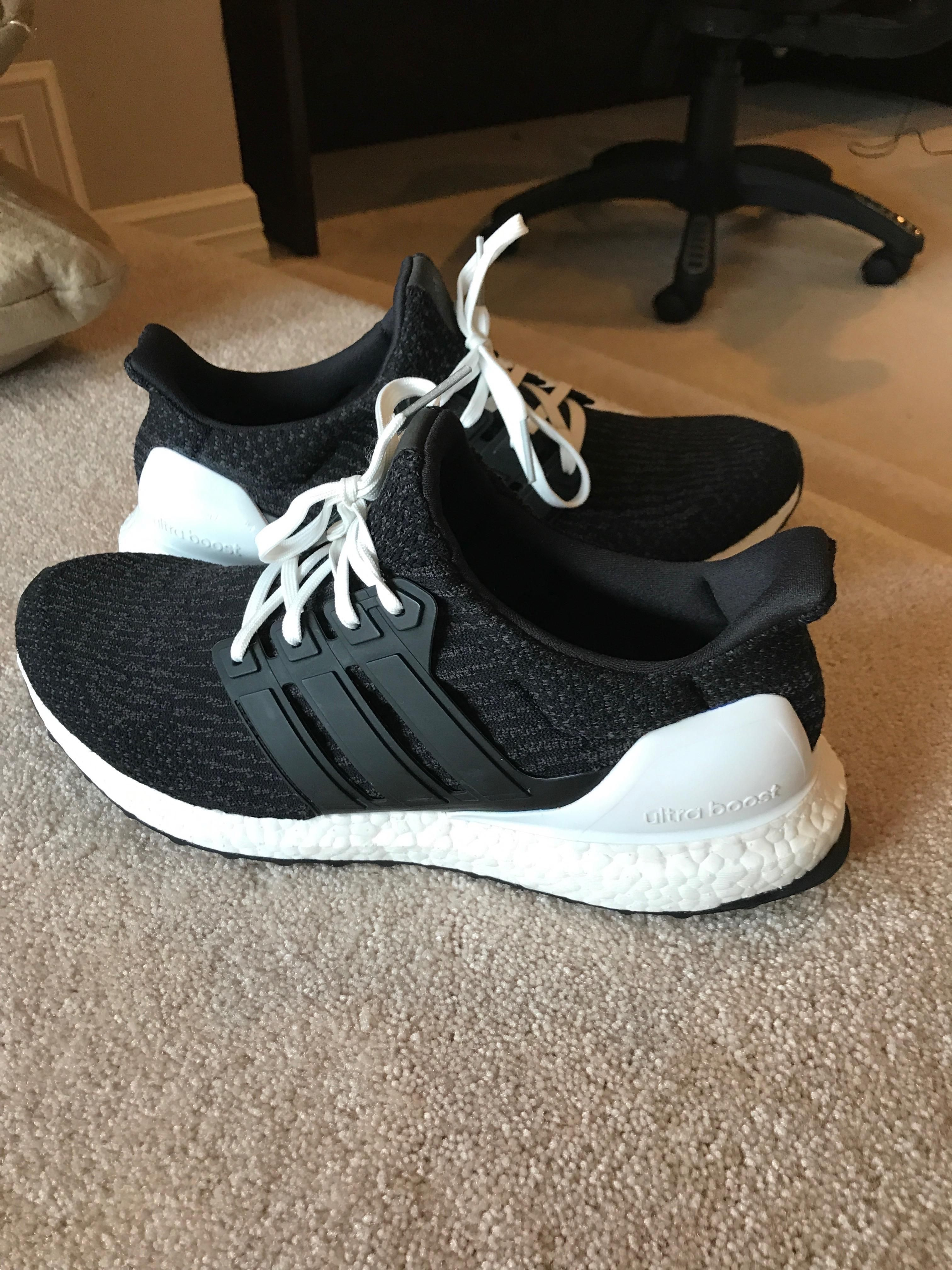 Custom Ultra boost Pride with white laces. Dope?