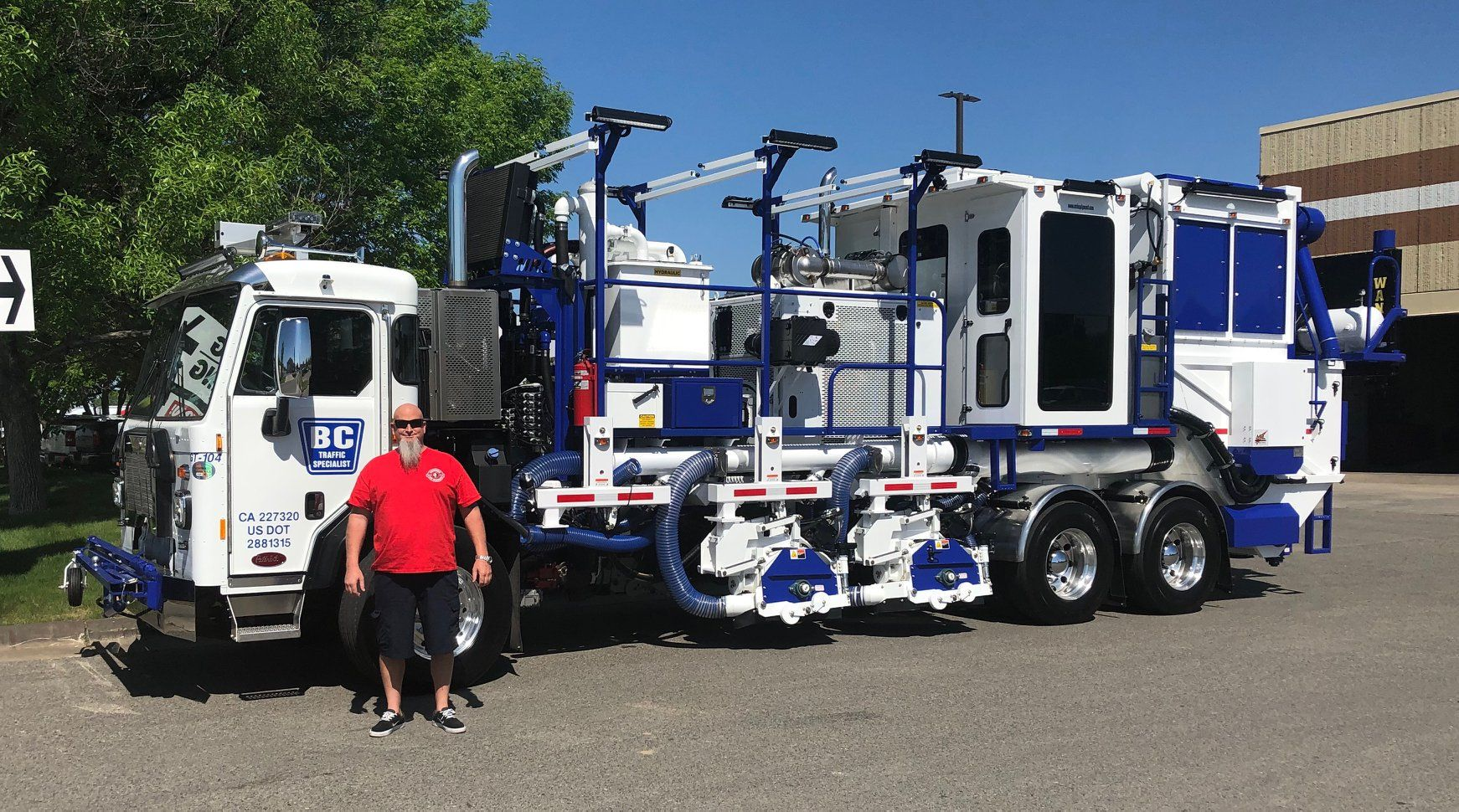 Bc Traffic Adding Another Truck To Our Fleet Thanks To Mrl