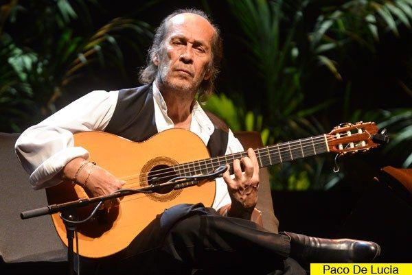 Paco De Lucia World Famous Spanish Guitarist Passes Away Paco De Lucia Blues Musicians Spanish Musicians