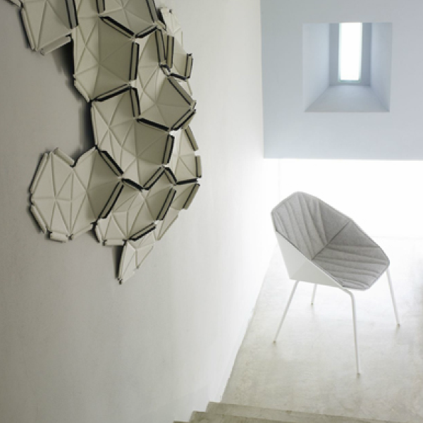Clouds is an innovative, decorative motif concept designed by Ronan and Erwan Bouroullec for Kvadrat