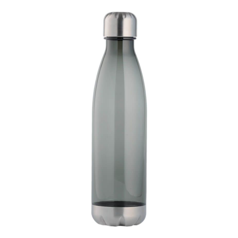 Tritan Water Bottle With Stainless Steel Bottom And Cap Brandability Tritan Water Bottle Bottle Water Bottle