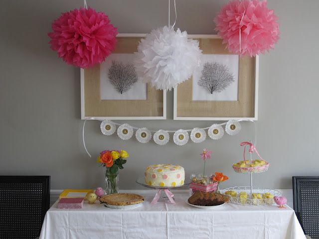Baptism Party Home Cute Ideas