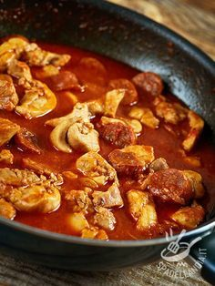 Photo of Chicken stew and spicy sausage