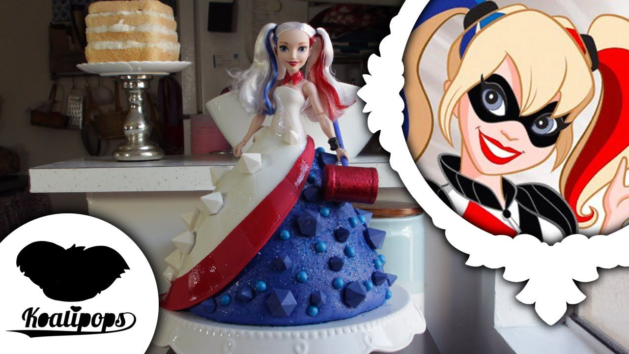 How To Make Harley Quinn S Big Dress In A Cake