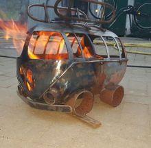 Te Koop - T1 Bulli Feuertonne, EUR 200 | bauen... | Pinterest ...
