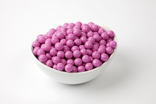 Hot Pink Sixlets--having a gender reveal party? Identify the sex of the baby and send people home with a tasty treat!