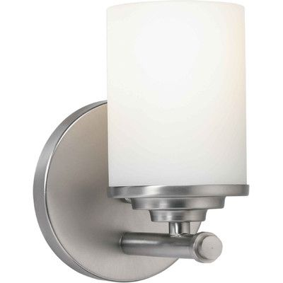 Bathroom Lighting Wayfair 1-light wall sconce | sconces, light walls and wall sconces
