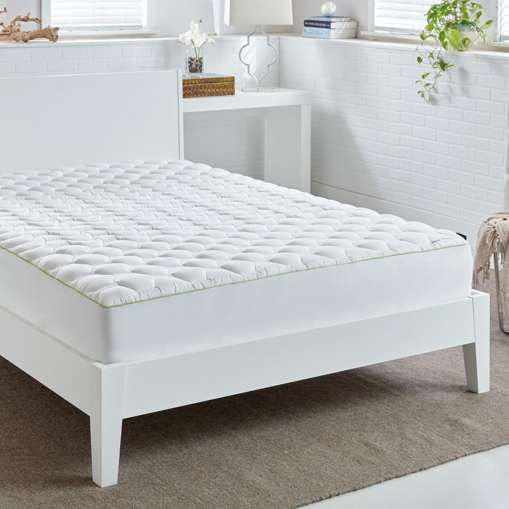 White Hyper-Cotton 4.0 Mattress Pad (Queen) - Bedgear ...