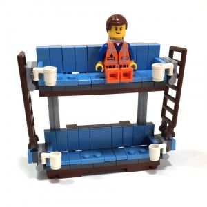 Make Your Own LEGO Movie Double Decker Couch