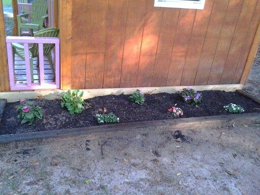 Children's flower bed.