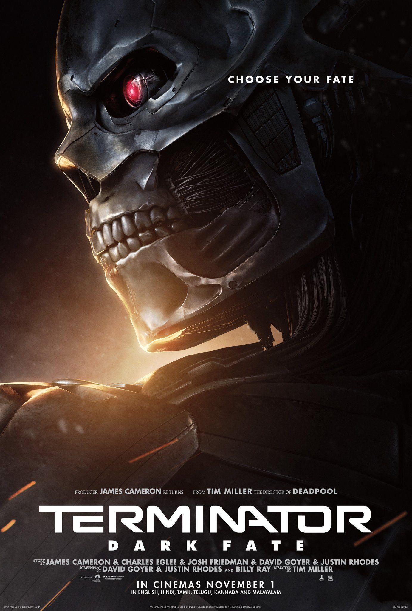Terminator Dark Fate Destino Oculto Peliculas De Superheroes Peliculas De Los Vengadores