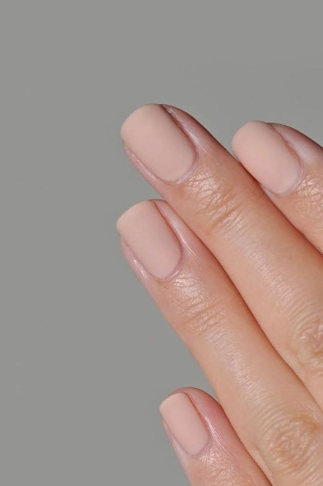 Nail Inspiration: Nude Matte Nails (Le Fashion)