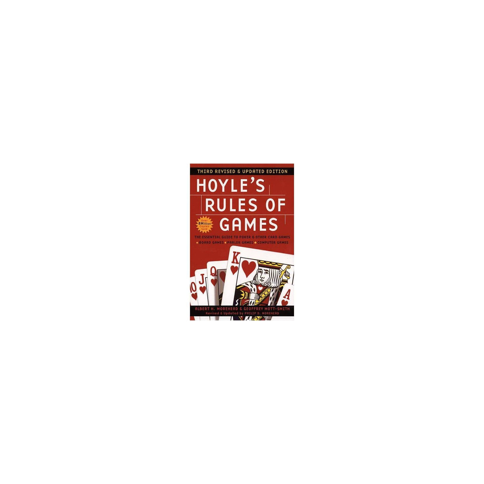 Hoyles rules of games 3 edition by albert h morehead
