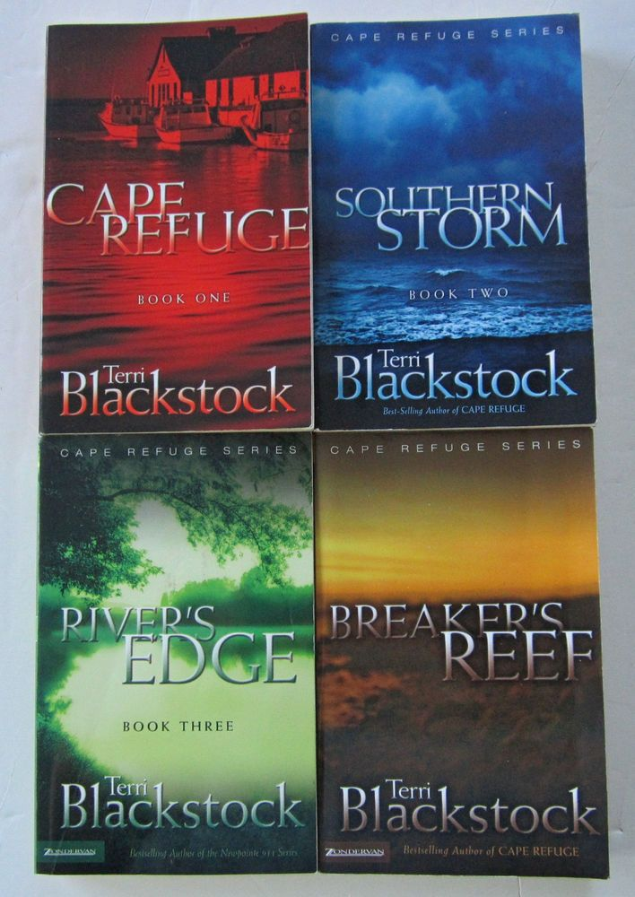 Lot Of 4 Cape Refuge Series By Terri Blackstock Books 1 4 Paperbacks Books Terri Blackstock Book Deals
