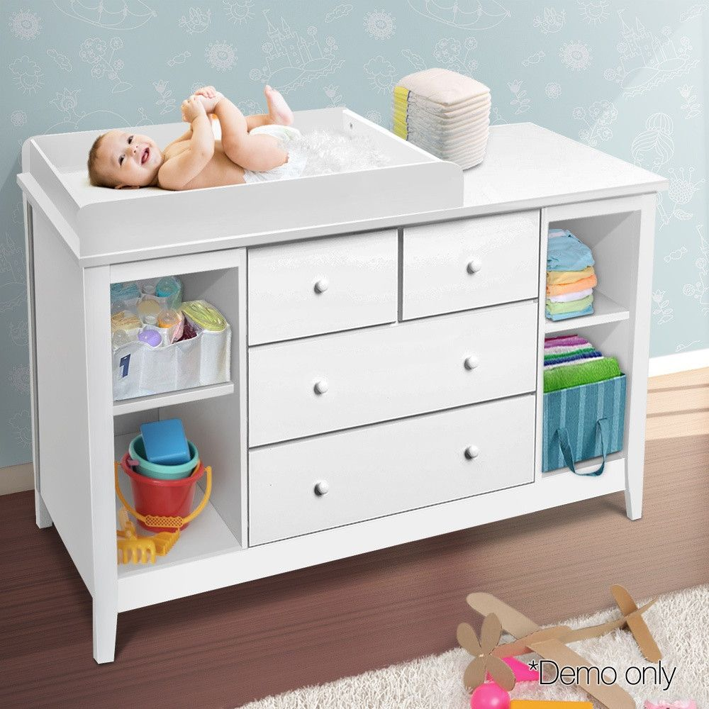 Baby Change Table Changing Chest Of Drawers Dresser Cabinet Changer Nursery Baby Changing Tables Baby Dresser Changing Table
