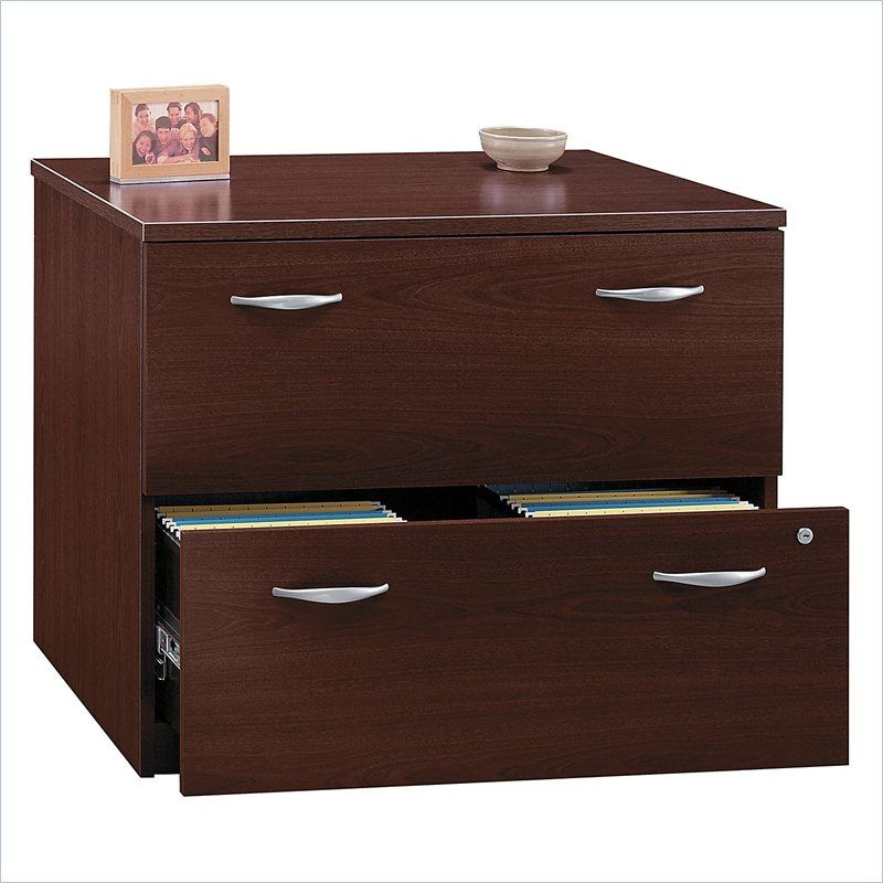 "Wood File Cabinet from ""Creating the Perfect Home Office ..."
